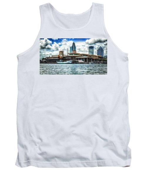 Arc Gloria In Port In Hdr Tank Top by Michael White