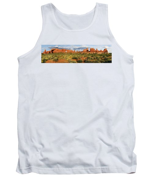 Arches National Park Panorama Tank Top