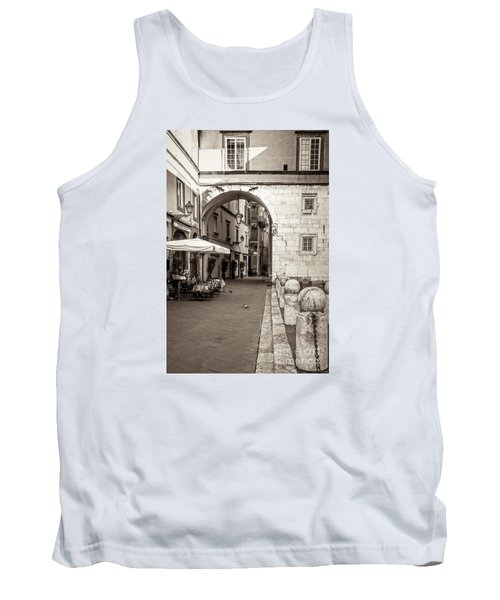 Archway Over Street Tank Top
