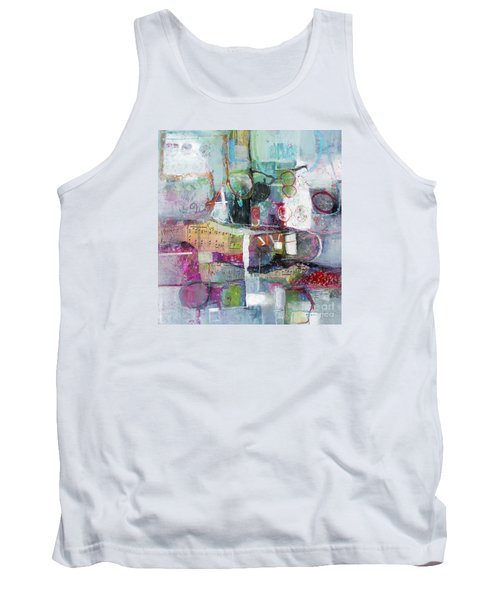 Tank Top featuring the painting Art And Music by Michelle Abrams