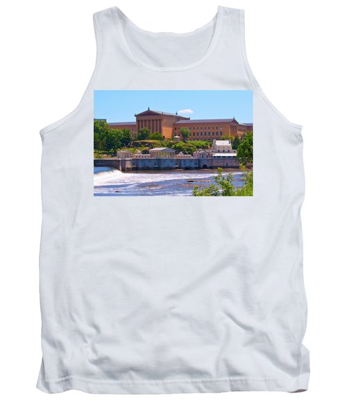 Art Museum And Fairmount Waterworks - Hdr Tank Top