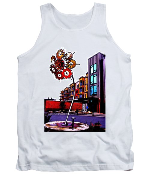 Tank Top featuring the photograph Art On The Ave by Sadie Reneau