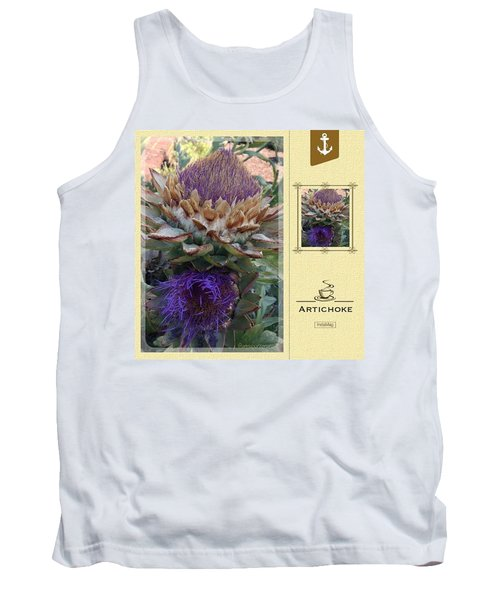 Artichoke In The Herb Garden Tank Top