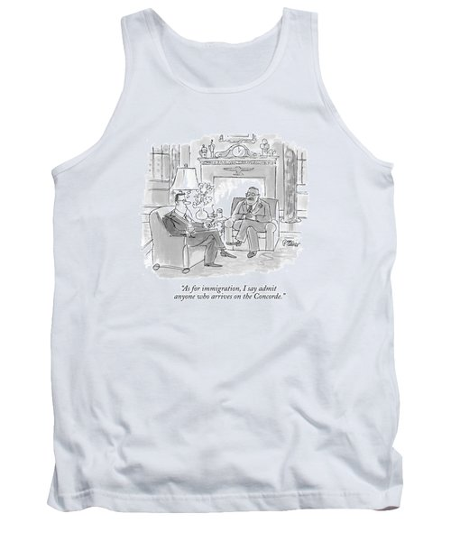 As For Immigration Tank Top