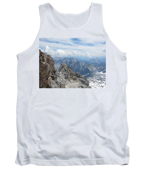 Tank Top featuring the photograph As The Crow Flies by Pema Hou