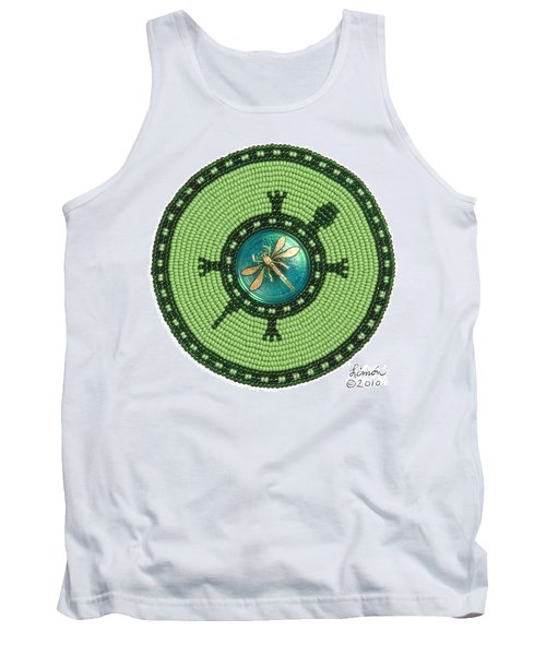 Ashlee's Dragonfly Turtle Tank Top