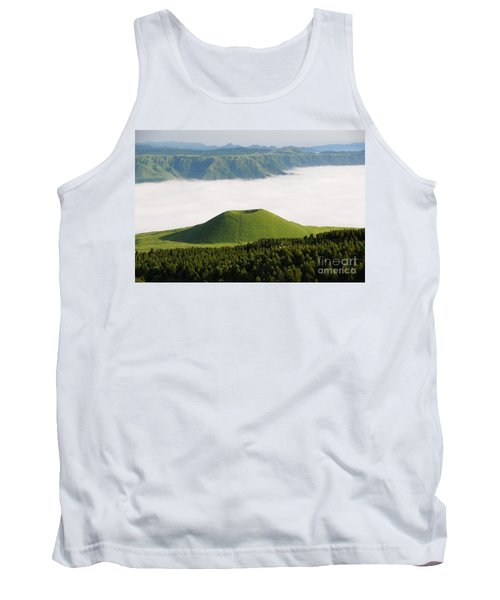 Tank Top featuring the photograph Aso Komezuka Sea Of Clouds Cloud Kumamoto Japan by Paul Fearn