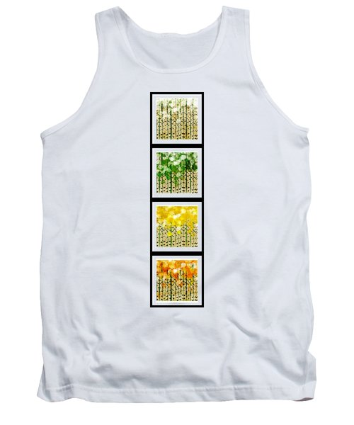 Aspen Colorado Abstract Vertical 4 In 1 Collection Tank Top