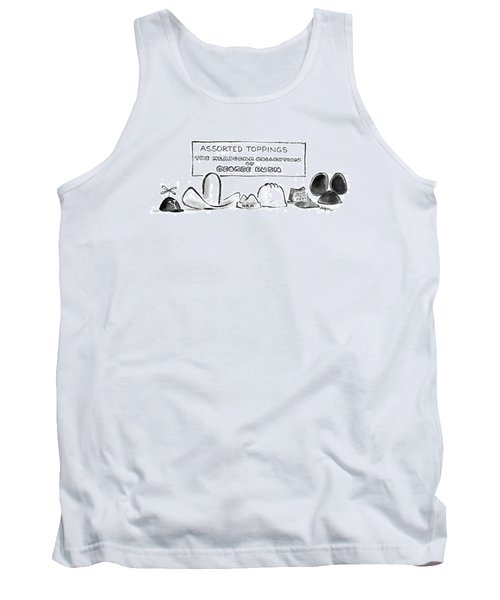 Assorted Toppings The Headgear Collection Tank Top