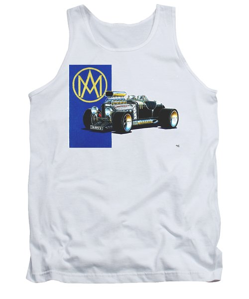 Aston Martin Hot Rod Tank Top