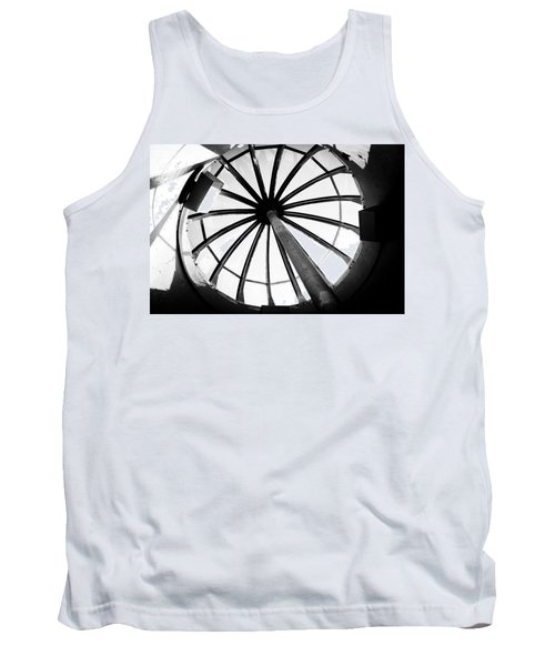 Tank Top featuring the photograph Astoria Column Dome by Aaron Berg
