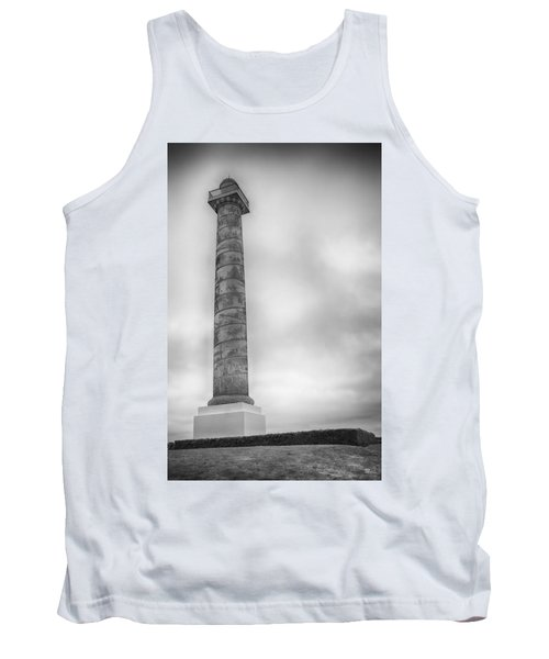 Tank Top featuring the photograph Astoria The Column by David Millenheft
