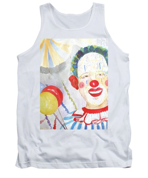 Tank Top featuring the painting At The Circus by Sandy McIntire