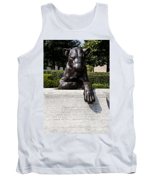 At The National Law Enforcement Officers Memorial In Washington Dc Tank Top