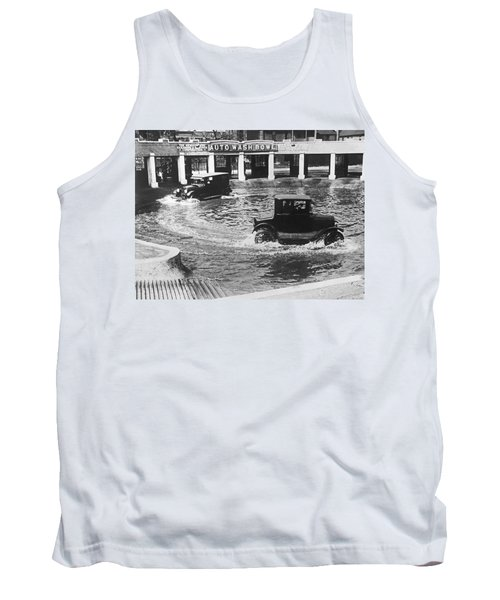 Auto Wash Bowl Tank Top