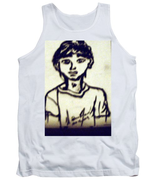 Autographed Drawing Tank Top