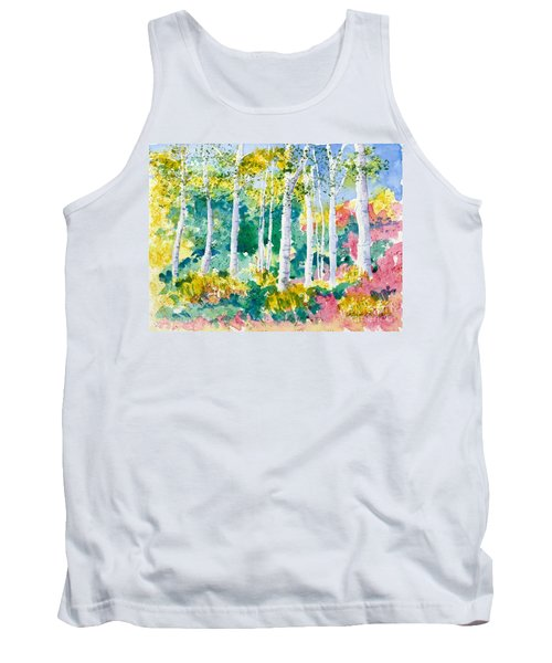 Autumn Aspen Tank Top
