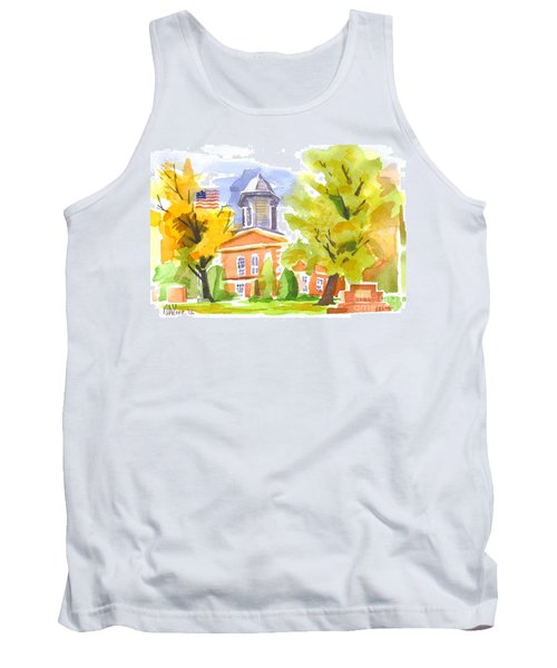 Autumn At The Courthouse Tank Top