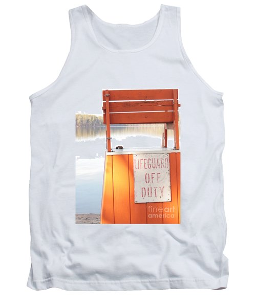Autumn At White Lake Tank Top