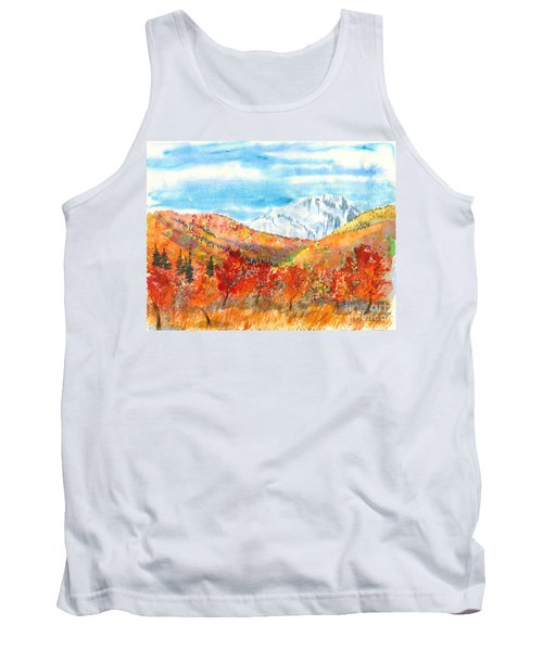 Autumn Colors Tank Top