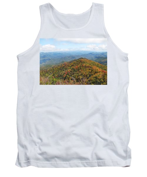 Autumn Great Smoky Mountains Tank Top by Melinda Fawver