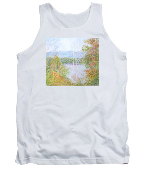 Autumn By The Lake In New Hampshire Tank Top