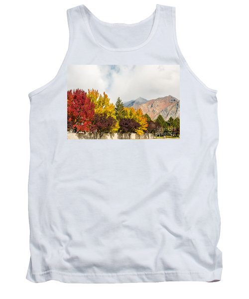 Autumn In The City Tank Top by Sue Smith