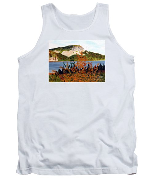 Autumn Sunset On The Hills Tank Top by Barbara Griffin