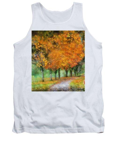 Autumn Trees Tank Top