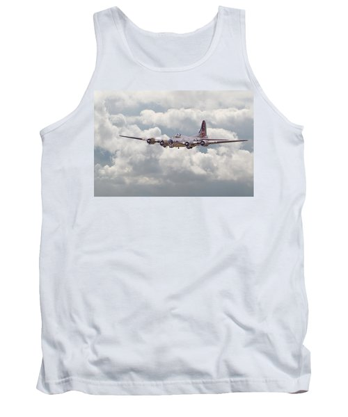 B17- Yankee Lady Tank Top by Pat Speirs