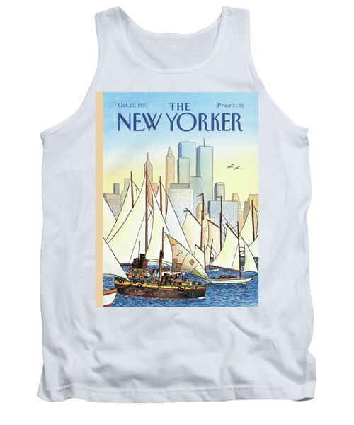 Back In The New World Tank Top