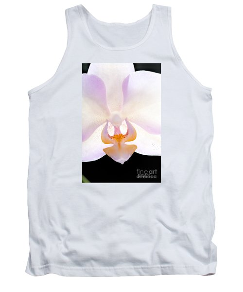 Tank Top featuring the photograph Backlit Orchid by David Perry Lawrence