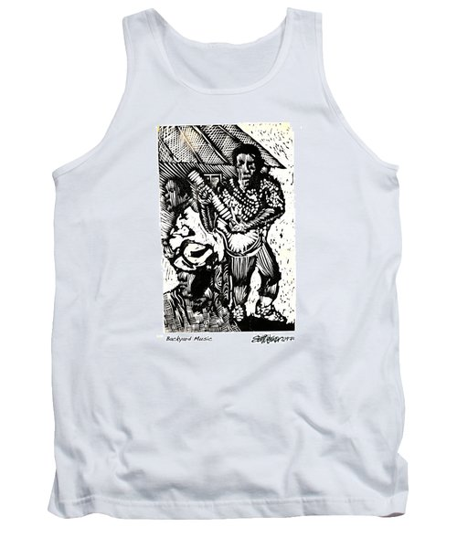 Backyard Music Tank Top