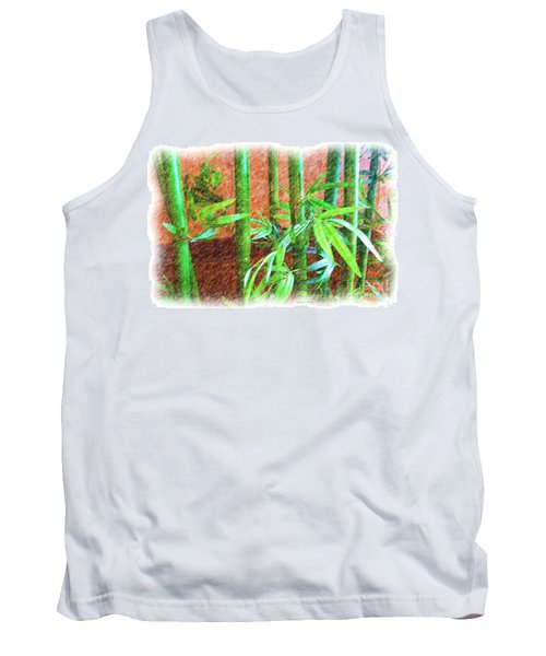 Bamboo #1 Tank Top by Luther Fine Art