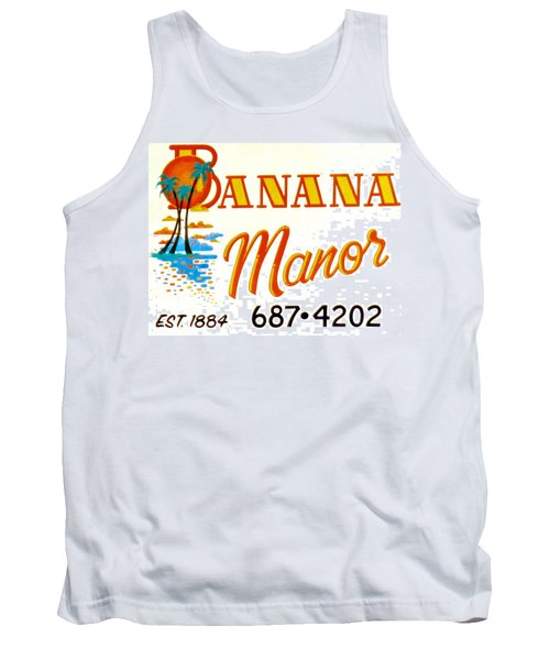 Banana Manor Tank Top