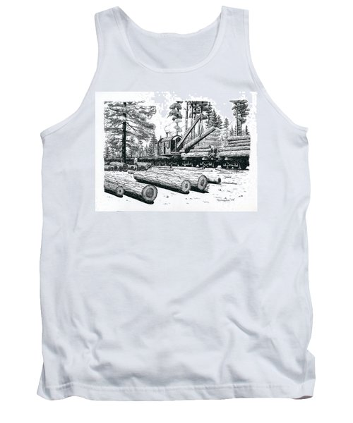 Barnhart Log Loader Tank Top