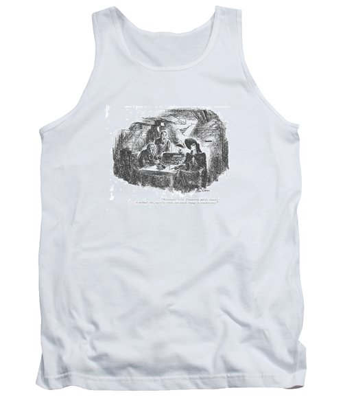 Barometer 1016. Tomorrow Partly Cloudy Tank Top