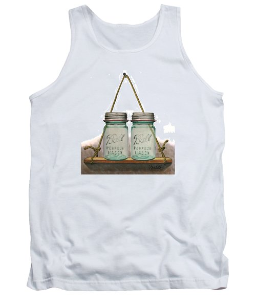 Balls To The Wall Tank Top by Ferrel Cordle