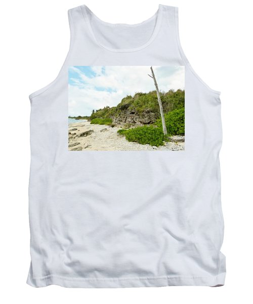 Tank Top featuring the photograph Bat Cave by Amar Sheow