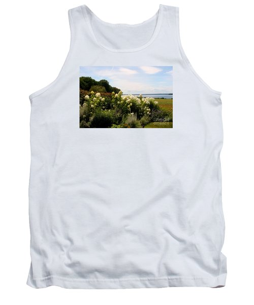 Bay View Bristol Rhode Island Tank Top by Tom Prendergast
