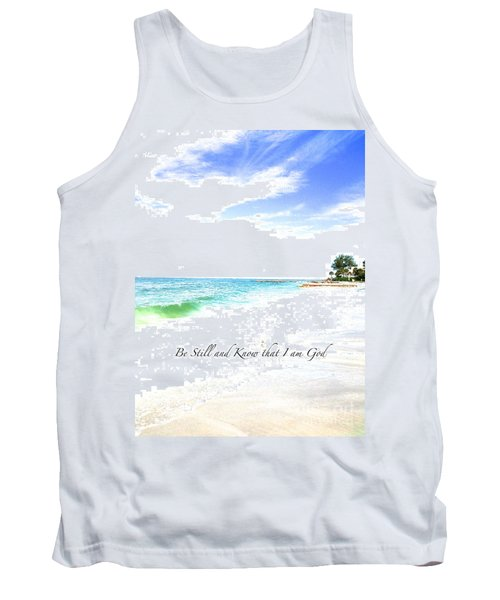 Be Still #3 Tank Top by Margie Amberge