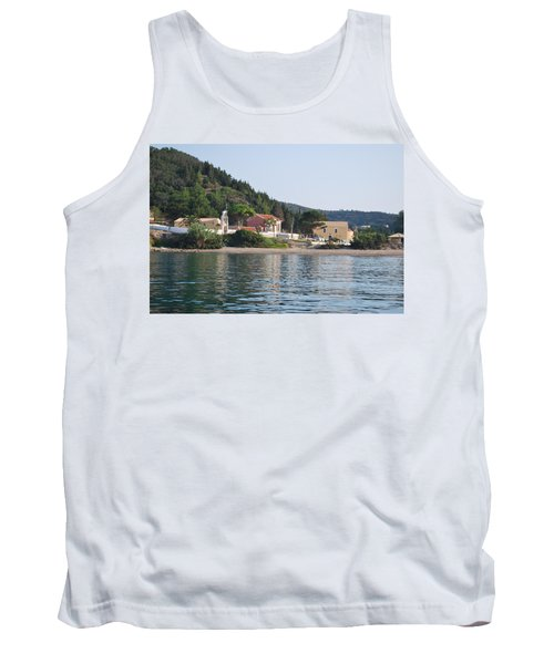 Beach 5 Tank Top by George Katechis