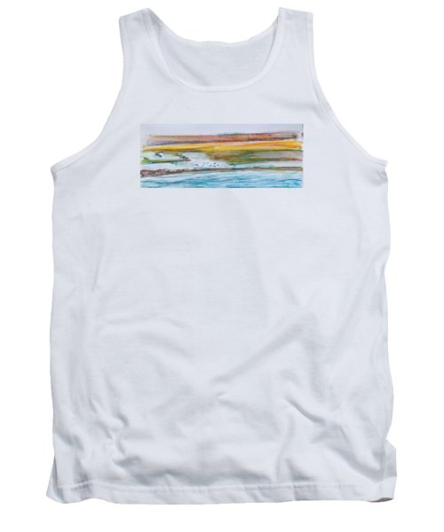 Beach And Sea Tank Top