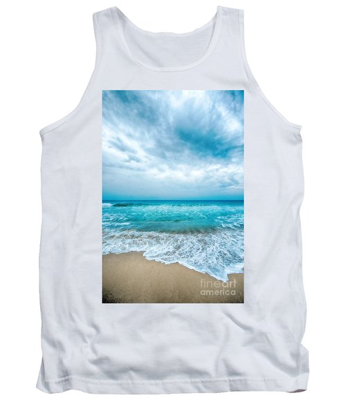 Beach And Waves Tank Top