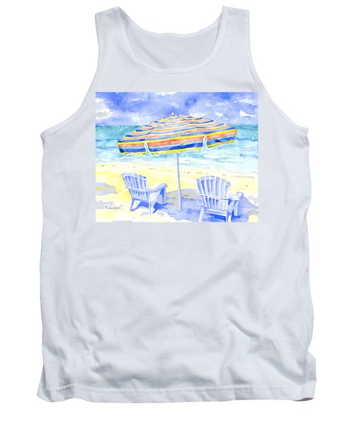 Beach Chairs Tank Top