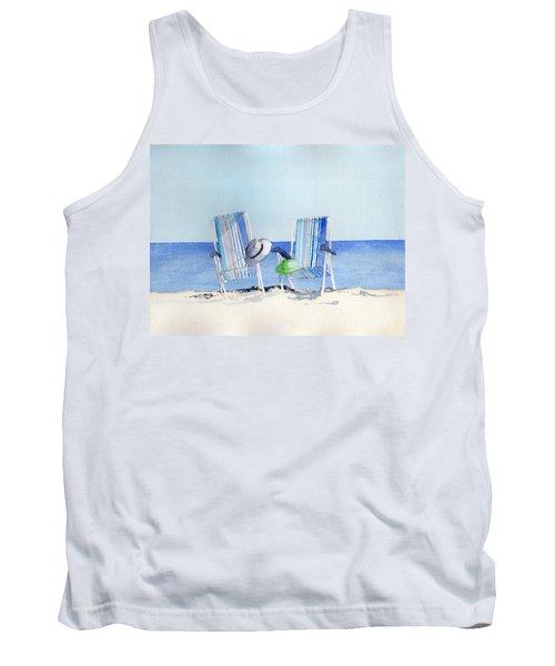 Beach Chairs Tank Top