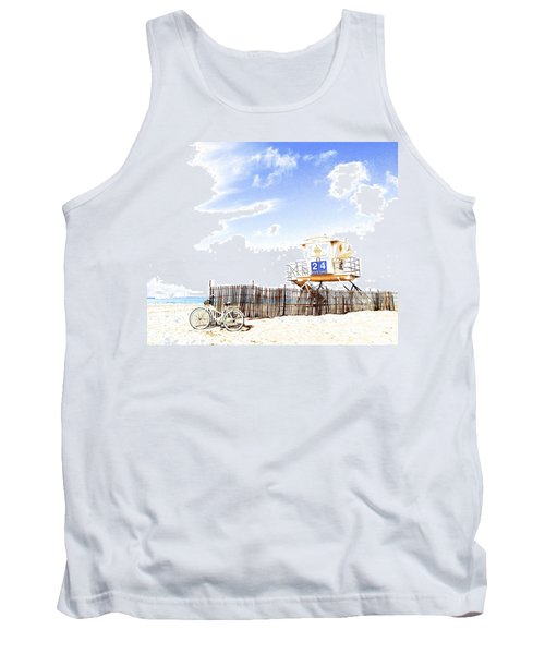 Beach Cruiser Tank Top by Margie Amberge