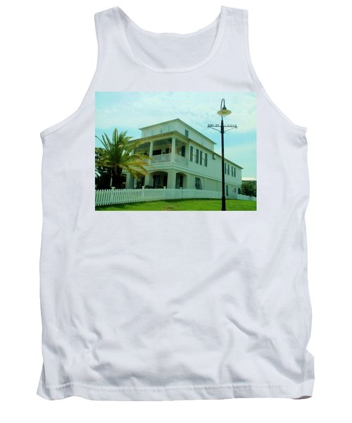 Beach House - Bay Saint Louis Mississippi Tank Top