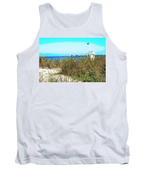 Beach Serenity Tank Top