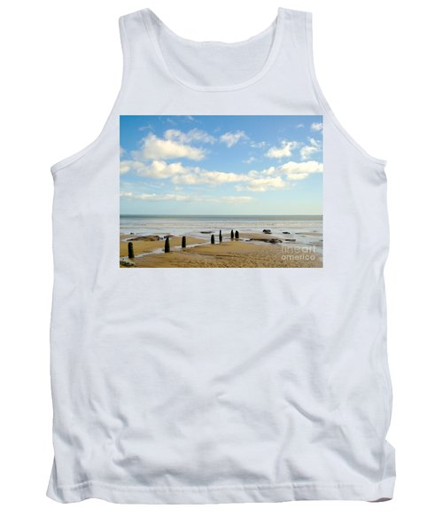 Tank Top featuring the photograph Beach Skies by Suzanne Oesterling